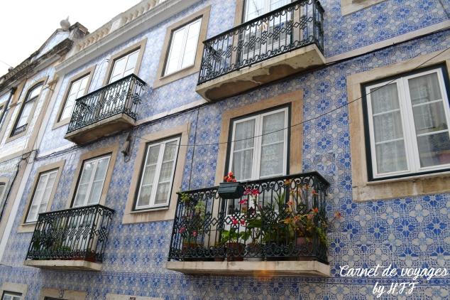 Dans les rues de Lisbonne mosaique HFF