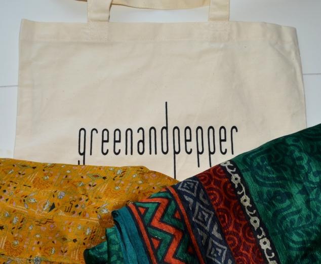 Green pepper foulards HFF